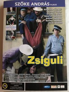 Zsiguli DVD 2004 / Directed by Szőke András / Starring: Szarvas József, Gazdag Tibor, Györgyi Anna, Gáspár Sándor (5998133171238)