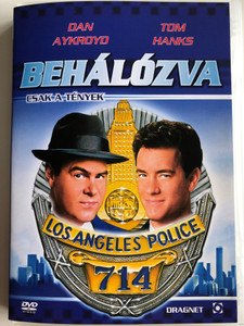 Dragnet DVD 1987 Behálózva / Directed by Tom Mankiewitcz / Starring: Christopher Plummer, Harry Morgan, Alexandra Paul (5999544256194)