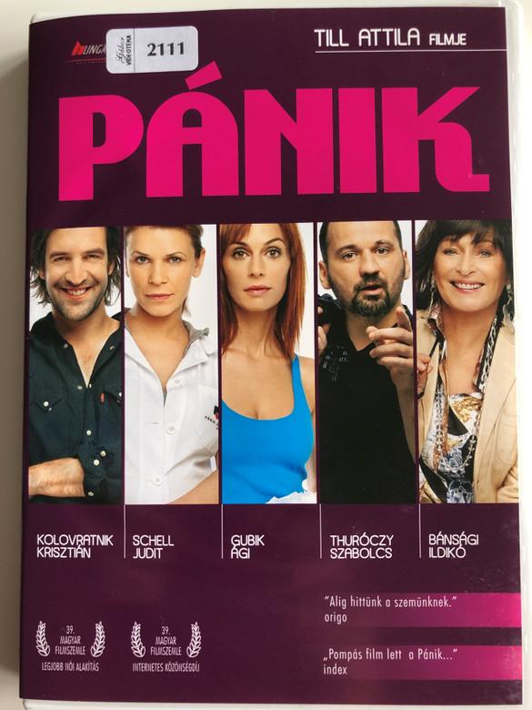 Pánik DVD 2008 Panic / Directed by Till Attila / Starring: Bánsági Ildikó, Kolovratnik Krszitián, Schell Judit, Gubik Ági (5999553590135)