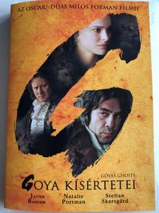 Goya's Ghosts DVD 2006 Goya Kísértetei / Directed by Milos Forman / Starring: Javier Bardem, Natalie Portman, Stellan Skarsgard (5999048915566)
