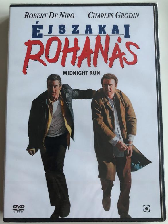 The Midnight Run DVD 1988 Éjszakai Rohanás / Directed by Martin Brest / Starring: Robert De Niro, Charles Grodin, Yaphet Kotto, John Ashton (5999544254664)