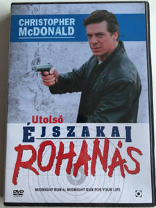 Midnight Run for Your Life DVD 1994 Utolsó éjszakai rohanás / Directed by Daniel Sackheim / Starring: Christopher McDonald, Melora Walters, Dan Hedaya, John Fleck (5999544254695)