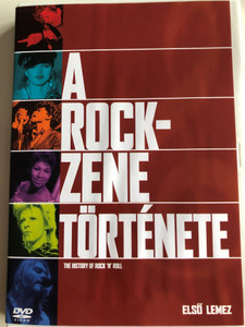 The History of Rock 'n' Roll DVD 1995 A rock zene története / Első lemez - Disc 1 / A Rock 'n' Roll Berobban / Volume 1: Episode 1 Rock'n'roll Explodes (5999010454291)