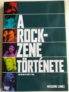 The History of Rock 'n' Roll Disc 2 DVD 1995 A rock zene története / Második lemez / Episodes: Britain Invades America Fights Back, The Sounds Of Soul / A brit invázió és Amerika válasza (5999010454307)