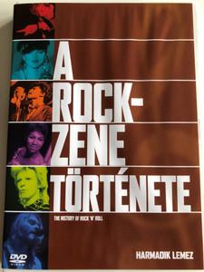 The History of Rock 'n' Roll Disc 3 DVD 1995 A rock zene története / Harmadik lemez - A Rock új arculata, Az én generációm / Episodes: Plugging In, My Generation (5999010454314)