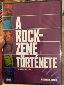 The History of Rock 'n' Roll DISC 4 DVD 1995 A rock zene története / Negyedik lemez / A legendás gitárosok, A hetvenes évek / Episodes: Guitar Heroes, The 70s: Have A Nice Decade (5999010454321)