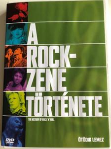 The History of Rock 'n' Roll Disc 5 DVD 1995 A rock zene története / Ötödik lemez / Episodes: Punk, Up From The Underground (5999010454338)