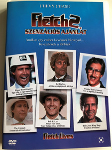 Fletch Lives DVD 1989 Fletch 2 - Szenzációs Ajánlat / Directed by Michael Ritchie / Starring: Chevy Chase, Hal Holbrook, Julianne Phillips, R. Lee Ermey (5999544255050)