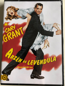 Arsenic and Old Lace DVD 1944 Arzén és Levendula / Directed by frank Capra / Starring: Cary Grant (5996514006094)