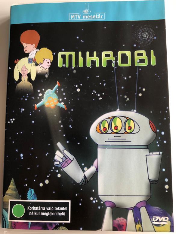Mikrobi (Hungarian Animated series) DVD 1975 / Directed by Mata János / Music: Pongrácz Zoltán, Lovas Ferenc / 13 episodes (5996357311249)