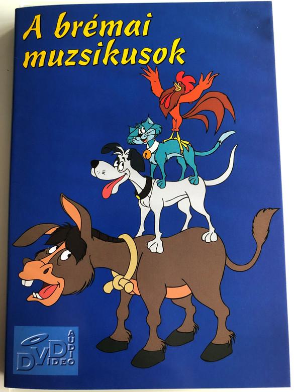 A brémai muzsikusok DVD 1989 Los 4 músicos de Bremen / Directed by Cruz Delgado / Starring: Rafael Alonso Naranjo jr., Eduardo Jover, Claudio Serrano, Gonzalo Durán (5998866300127)