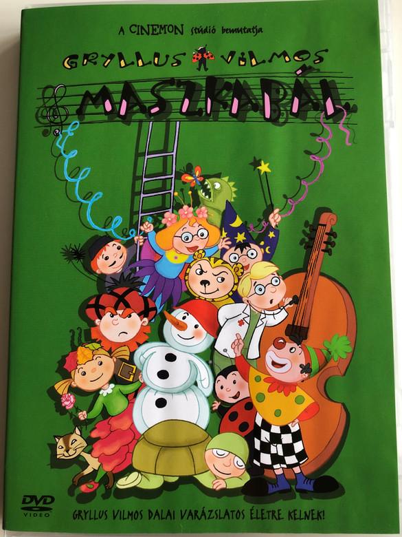Maszkabál DVD 2004 / Gryllus Vilmos Dalai varázslatos életre kelnek! / Masquerade - Hungarian cartoon compilation (5999048904355)