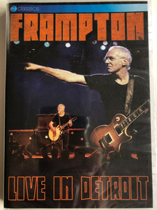 Frampton DVD 2013 Live In Detroit / Lines on my Face, Penny for your thoughts, Gemini / Eagle Vision – ERBRD5178 / (5036369823498)