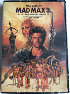 Mad Max 3. Beyond thunderdome DVD 1985 Mad Max - Az Igazság csarnokán innen és túl / Directed by George Miller, George Ogilvie / Starring: Mel Gibson, Tina Turner