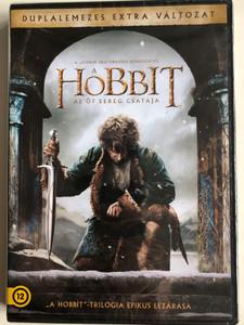 The Hobbit: The Battle of the Five Armies DVD 2014 A hobbit - Az öt sereg csatája / Directed by Peter Jackson / Starring: Ian McKellen, Martin Freeman, Richard Armitage, Evangeline Lilly, Lee Pace (5996514020243)