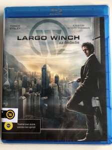 Largo Winch Az örökös 2008 Bluray Disc / Directed by Jéróme Salle / Starring: Tomer Sisley, Kristin Scott Thomas (5999547790305)