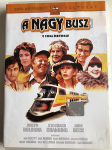 The Big Bus DVD 1976 A nagy busz / Directed by James Frawley / Starring: Joseph Bologna, Stockard Channing, John Beck (5996255714487)