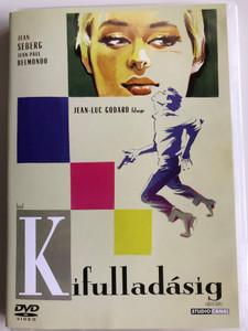 A sout de souffle DVD 1960 Kifulladásig (Breathless) / Directed by Jean-Luc Godard / Starring: Jean-Paul Belmondo, Jean Seberg (5996051090136)