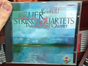 Reinhold Glier - String Quartets / Pulzus String Quartet / Hungaroton Classic Audio CD 2006 Stereo / HCD 32401