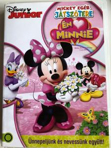 Mickey Mouse Clubhouse - I Love Minnie DVD 2013 Mickey Egér Játszótere - Én <3 Minnie / 4 Episodes on Disc (5996514013153)