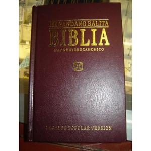 Magandang Balita Biblia / Tagalog Bible With Deuterocanonicals / Apocrypha: P...