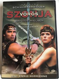 Red Sonja (Vörös Szonya) DVD 1985 / Directed by Richard Fleischer / Starring: Arnold Schwarzenegger, Brigitte Nielsen (59996255713534)