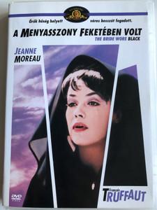 The Bride Wore Black DVD 1968 A Menyasszony feketében volt / Directed by Francois Truffaut / Starring: Jeanne Moreau, Michel Bouquet, Jean-Claude Brialy, Claude Rich (5999546332575)
