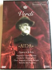 Verdi – Aida / Opera in 4 Acts / Stagione D'Opera Italiana, Giorgio Croci / Silverline Classics / Cascade Medien DVD 2003 / 80016