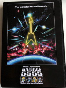 Daft Punk & Leiji Matsumoto's Interstella 5555 DVD 2003 The 5tory of the 5ecret 5tar 5ystem / Directed by Kazuhisa Takenouchi (724349095298)