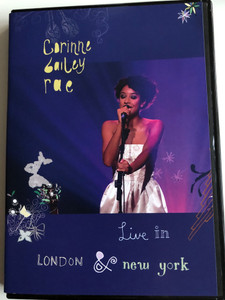 Corinne Bailey Rae DVD+CD 2007 Live In London & New York / Breathless, Enchantment, Like a Star / DVD includes Documentary (094638750895)