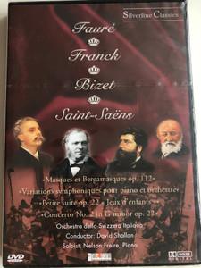 Fauré, Franck, Bizet, Saint-Saëns - Masques Et Bergamasques Op. 112, Variations Symphoniques Pour Piano Et Orchestre, Petite Suite Op. 22 «Jeux D'enfants», Concerto No. 2 In G Minor Op. 22 / Cascade Medien DVD 2003 / 80005