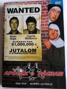 Nuns on the Run DVD 1990 Apócák a Pácban / Directed by Jonathan Lynn / Starring: Eric Idle, Robbie Coltrane (5999883048313)