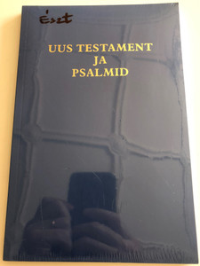 Uus Testament ja Psalmid / Estonian New Testament and Psalms / GBV 24201 / Paperback 2009 (9783866982314)