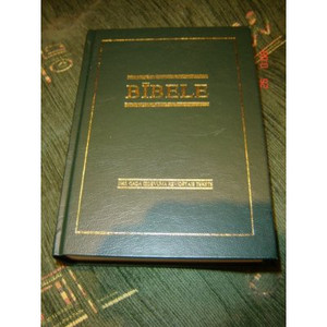 Latvian Bible / Bibele Latvijas 1965 Gada Izdevuma Revidetais Teksts / 1997 R63