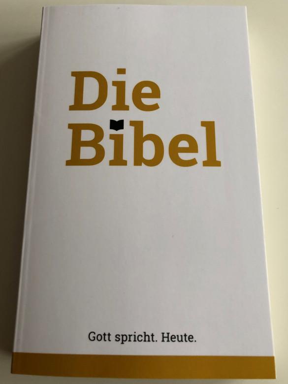 Die Bibel / German language Holy Bible / God Speaks. Today. / Gott spricht. Heute - Schlachter Übersetzung - Version 2000 / CLV 2019 / Paperback (9783866995109)