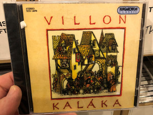Villon - Kaláka / Hungaroton Classic Audio CD 1998 Stereo / HCD 14078