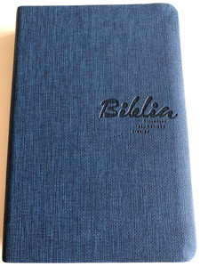 Slovak Ecumenical Bible / Biblia - Slovenský Ekumenický Preklad / Slovenská Biblická Spoločnost 2015 / Modry / Soft blue cover (9788085486971)