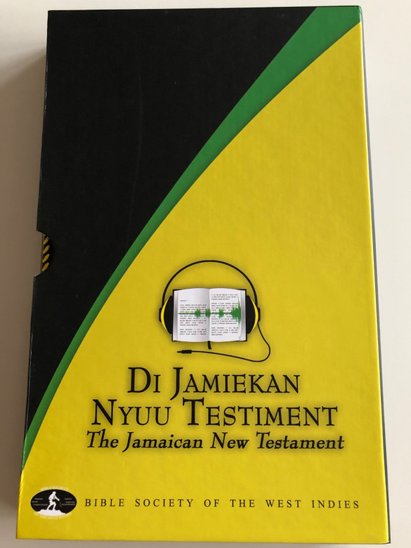 Di Jamiekan Nyuu testiment / The Jamaican New Testament / Bible Society of the West Indies 2012 / Leather bound in protective box (9780564020645)