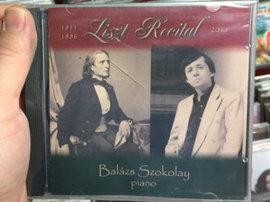 Liszt Recital 2011 (1811-1886) / Balazs Szokolay - piano / Audio CD / 4260261683688