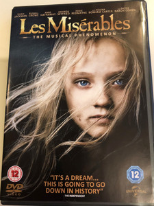 Les Misérables DVD 2012 The Musical Phenomenon / Directed by Tom Hooper / Starring: Hugh Jackman, Russel Crowe, Anne Hathaway, Amanda Seyfried, Helena Bonham Carter (5050582946949)