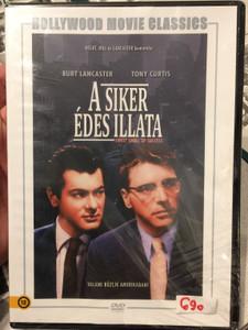 Sweet Smell of Success DVD 1957 A Siker édes illata / Directed by Alexander Mackendrick / Starring: Burt Lancaster, Tony Curtis / American film noir (5999546335415)