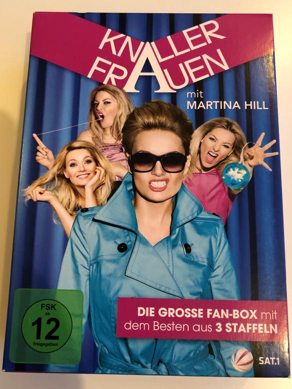 Knallerfrauen Full Series DVD 2011 Knallerfrauen mit Martina Hill / Starring: Martina Hill, Maja Beckmann, Matthias Deutelmoser, Michael Krabbe / German sketch comedy series (888750715692)