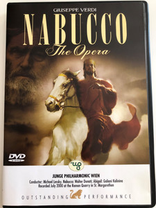 Nabucco the Opera by Giuseppe Verdi DVD 2006 / Junge Philharmonic Wien / Conducted by Michael Lessky / Perform006 (8717423028307)
