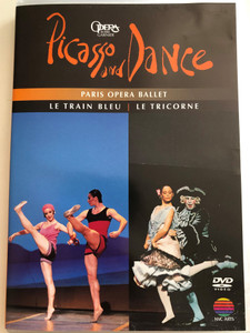 Picasso and Dance DVD 1994 Paris Opera Ballet / Le train bleu, Le Tricorne / Opera de Paris Garnier / Orchestre des concerts lamoureux / Conducted by David Coleman / Directed by Yvon Gerault (0745099875527)