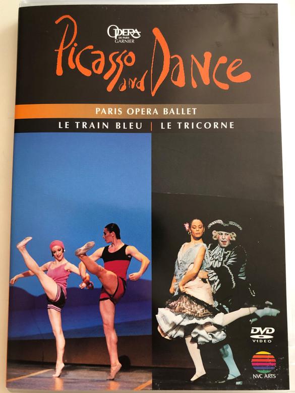 Picasso and Dance DVD 1994 Paris Opera Ballet / Le train bleu, Le Tricorne / Opera de Paris Garnier / Orchestre des concerts lamoureux / Conducted by David Coleman / Directed by Yvon Gerault (0745099875527)