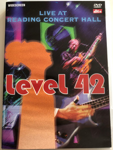 Level 42 DVD 2001 Live at Reading Concert Hall / Hot Water, Sooner or Later, Sleepwalkers, The Sun Goes Down / ACE 11563D (690978115631)