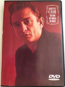 Johnny Cash - The Man, His World, His Music DVD 2002 / Ring of Fire, Big River, Long Black Veil, Folsom Prison Blues / Sanctuary Visual Entertainment / SDE 3008 (5050159430086)