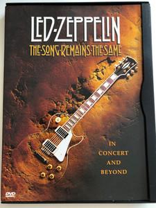 Led Zeppelin - The Song Remains The Same DVD 1976 In Concert and Beyond / Filmed at Madison Square Garden / John Bonham, John Paul Jones, Jimmy Page, Robert Plant (7321921113895)