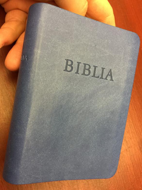 Biblia RÚF / Hungarian Revised translation Pocket Size Holy Bible / Istennek az Ószövetségben és Újszövetségben adott kijelentése / Kálvin Kiadó 2018 / Leather Bound (9789635584079)