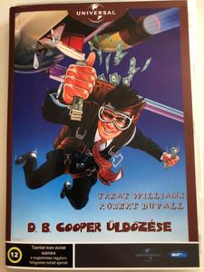The Pursuit of D.B. Cooper DVD 1981 D.B. Cooper üldözése / Directed by Roger Spottiswoode / Starring: Robert Duvall, Treat Williams, Kathryn Harrold, Paul Gleason (5998133196132)